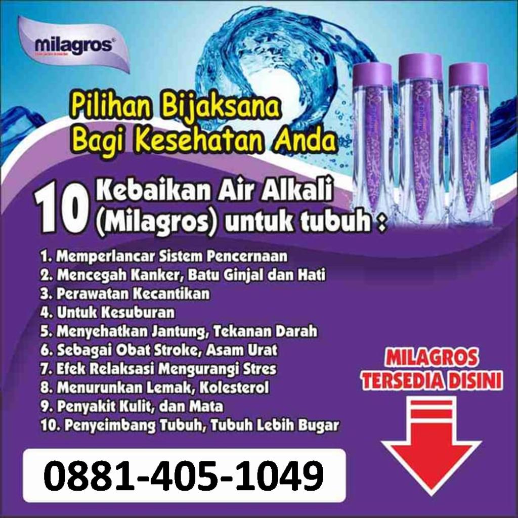 0881-405-1049 Milagros Malang Lowokwaru - daftar harga air milagros,daftar stokis milagros,dimana beli air milagros,distributor air milagros,Brosur